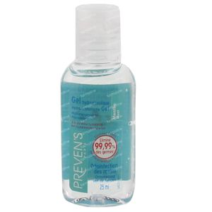 Prevens Hand Gel Hydroalcoholic Mint 25 ml