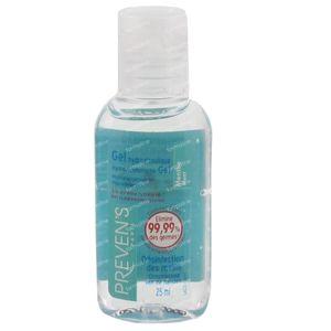 Prevens Handgel Hydroalcoholisch Munt 25 ml