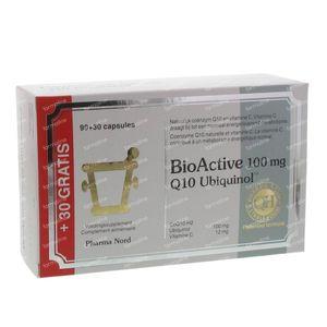 Pharma Nord BioActive Q10 Uniquinol 100mg 90+30  Capsules