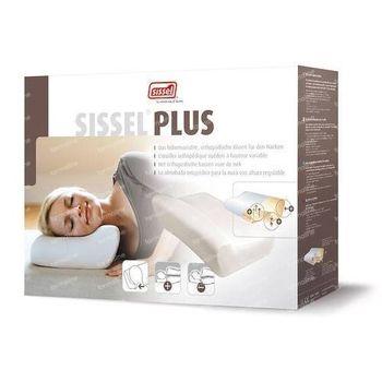 Sissel Plus Hoofdkussen Orthopedisch Hoofdkussen + Stretch Overtrek 1 stuk