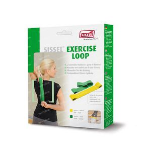 Sissel Exercise Loop Set (Green & Yellow) 2 pezzi