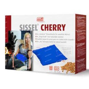 Sissel Cherry Coussin Noyaux de Cerise 20cm x 40cm Bleu 1 pièce