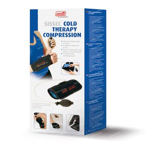 Sissel Cold Therapy Compression Ankle 1 pezzo