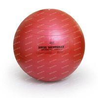 Sissel Ball Zitbal 65cm Rood 1 st