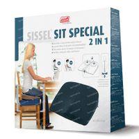 Sissel Wedges Sit Special 2en1 Bleu 1 st