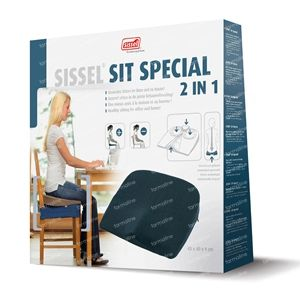 Sissel Wedge Sit Special 2 in 1 Grey 1 item