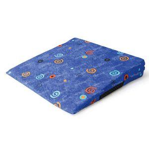 Sissel Sit Colour + Housse Bleu Anti-Slip 1 pièce