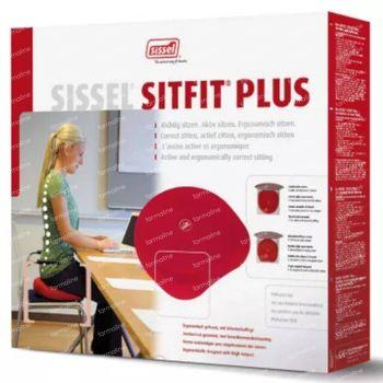 Sissel Sitfit Plus Coussin Rouge + Pompe 1 st