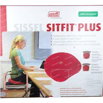 Sissel Sitfit Plus Coussin Noir + Pompe 1 st
