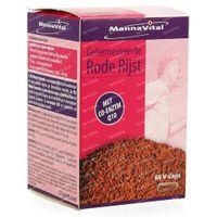 Mannavital Riz Rouge Fermenté + Q10 60  capsules