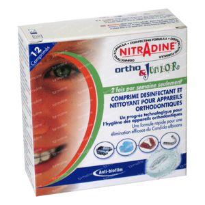 Nitradine Ortho & Junior 12 comprimidos efervescentes