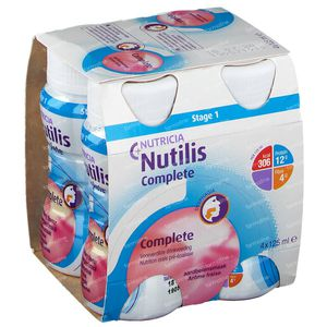 Nutilis Complete Fraise 500 ml