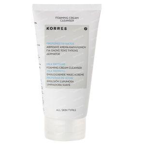 Korres Milk Proteins Foaming Cream Cleanser 150 ml