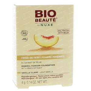 Bio Beauté by Nuxe Fond de Teint Poudre Minérale Vanille Claire 4 g