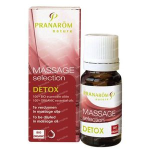 Pranarom Massage Selection Detox Huile Essentiel 10 ml