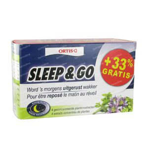 Ortis Sleep & Go + 33% For Free 48 tablets