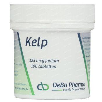 Deba Kelp 125mcg 100 tabletten