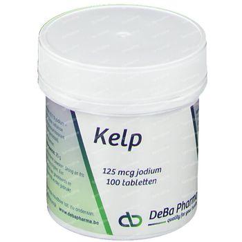 Deba Kelp 125mcg 100 comprimés