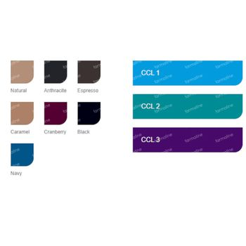 Jobst Ultrasheer Compressiekousen 20-30 Medium Zwart 1 paire