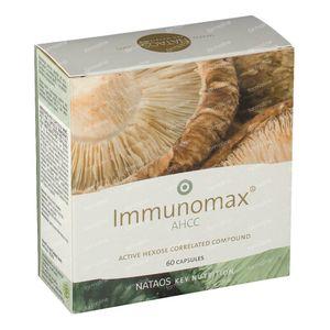 Nataos Key Nutrition Immunomax AHCC 60 kapseln