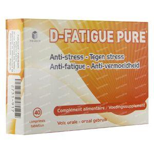 D-Fatigue Pure 40 comprimés