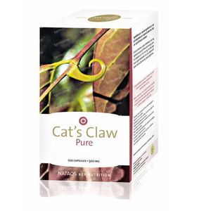 Nataos Key Nutrition Cat's Claw 100 St Capsule
