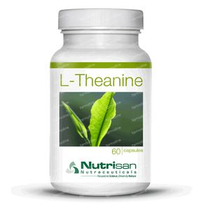 Nutrisan L-Theanine 60 St Capsules