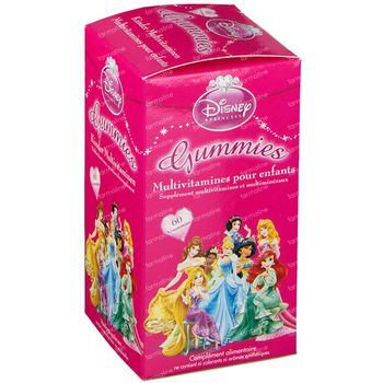 Disney Multivitamines Enfant Princess 60 chewing-gums
