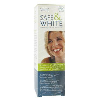 Safe & White Dentifrice Whitening 100 ml