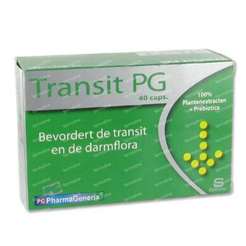 Pharmagenerix Transit 40 capsules
