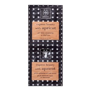 Apivita Gentle Exfoliating Gel With Apricot 2x8 ml
