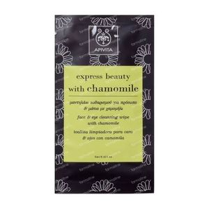 Apivita Express Cleansing Wipe With Chamomile 1 item