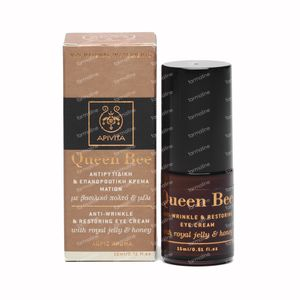 Apivita Queen Bee Anti-Rimpel & Herstellende Oogcrème 15 ml fles