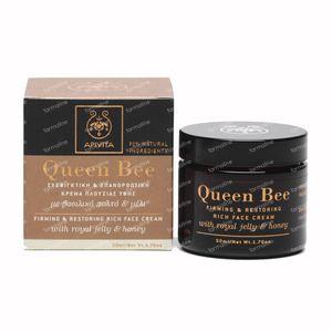 Apivita Queen Bee Verstevigende & Herstellende Rijke Gezichtscrème 50 ml