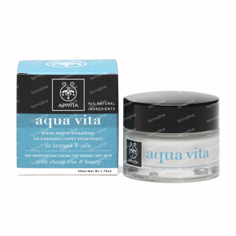 apivita aqua vita cr me pour peaux normales seches 50 ml commander ici en ligne. Black Bedroom Furniture Sets. Home Design Ideas