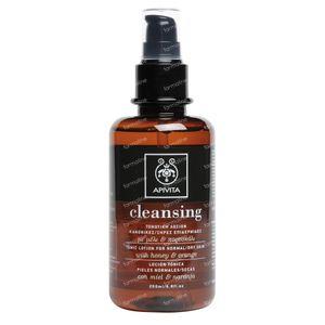 Apivita Cleansing Lotion Tonique Peaux Normales/Seches 200 ml bouteille