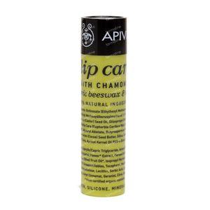 Apivita Lip Care with Chamomile SPF15 4 g tube