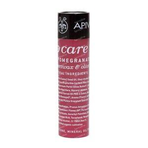 Apivita Lip Care Lipstick With Pomegranate 4 g tube