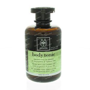Apivita Body Tonic Tonificerende Bad & Douche Gel 300 ml fles