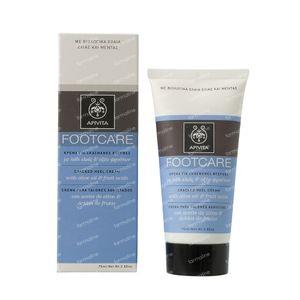 Apivita Foot Care Crème Voor Gebarsten Hielen 75 ml Tube