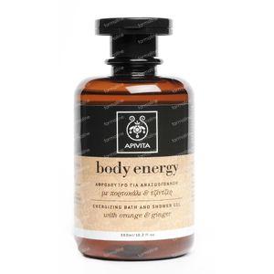 Apivita Body Energy - Energieverhogende Bad & Douche Gel 300 ml fles