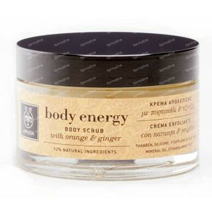 Apivita Body Energy - Energizing Body Scrub 200 ml