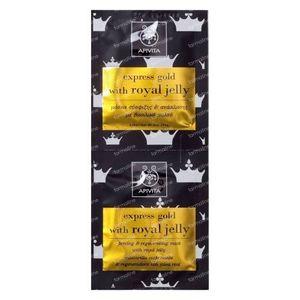 Apivita Express Herstellend Gezichtsmasker met Koninginnengelei 2 x 8 ml