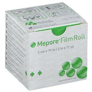 Mepore Film Rouleau 5cm x 10m Transparant 1 pièce