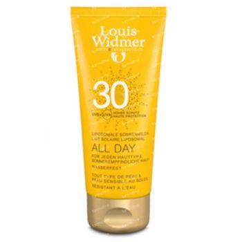 Louis Widmer All Day SPF30 Zonder Parfum 200 ml