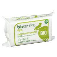 Bio Secure Bébé Lingettes 50 st