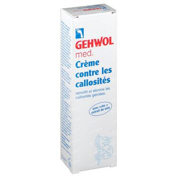Gehwol Med. Crème Callosité 75 ml