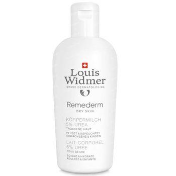 Louis Widmer Remederm Lichaamsmelk 5% Ureum Licht Geparfumeerd 200 ml