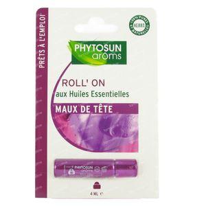 Phytosun Roll-On Maux de Tête 4 ml
