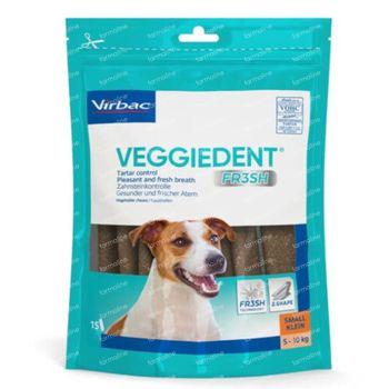 Veggiedent < 10kg 15 chewing-gums